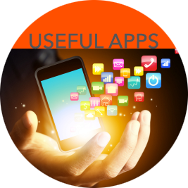 Find helpful apps here